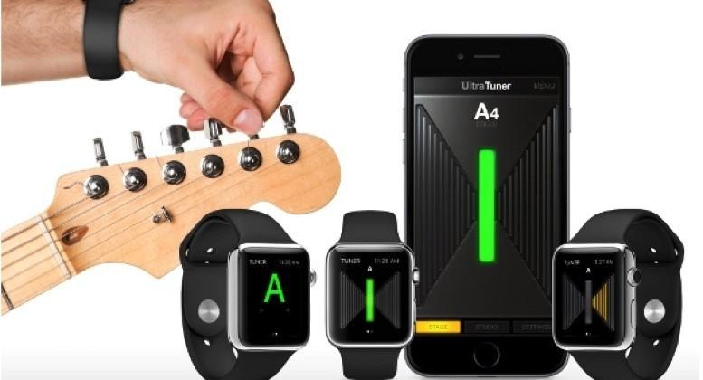 The Apple Watch can now help you tune a guitar