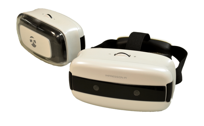 Impression Pi VR headset update shows off fully 3D augmented reality