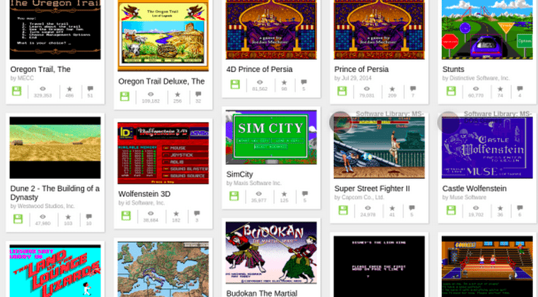 Internet Archive: you can now play MS-DOS games in tweets