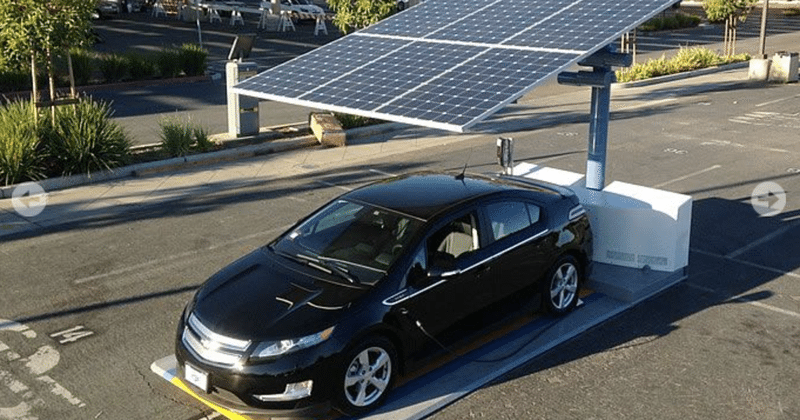 Solar powered electric vehicle charging stations launch in SF