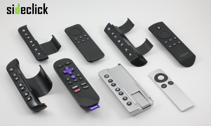 Sideclick accessory adds TV control to set-top remote