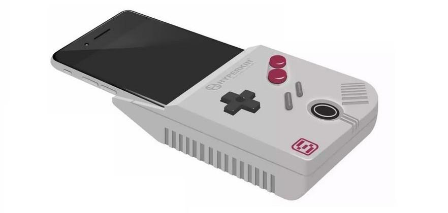 Hyperkin SmartBoy concept turns iPhone 6 Plus into Game Boy