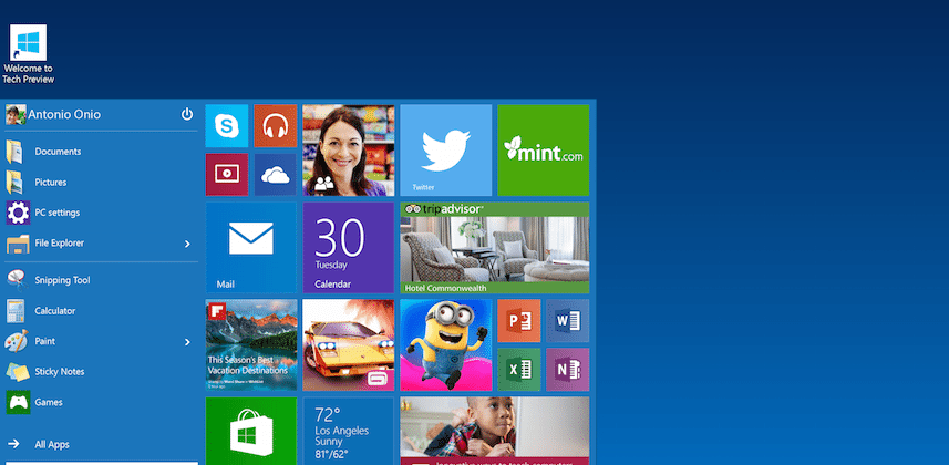 Windows 10: first look at new Mail, Calendar apps