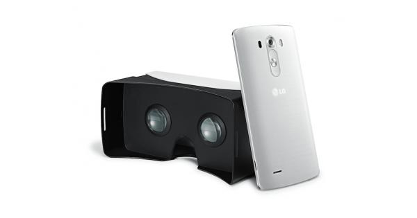 LG G3's Google Cardboard VR tandem comes to the US