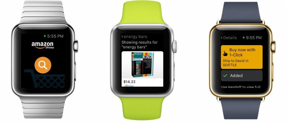 Amazon Apple Watch app puts shopping on your wrist