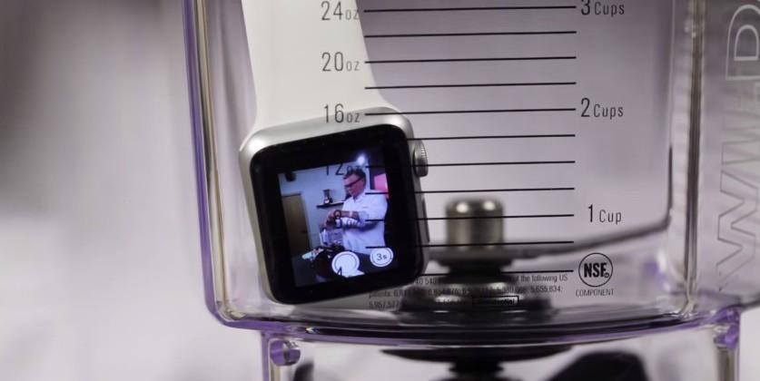 Apple Watch Tossed into a Blender