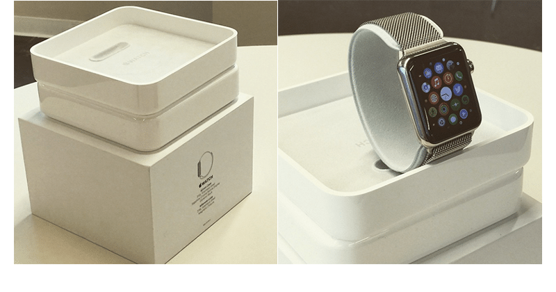 Photos of alleged Apple Watch retail packaging surface