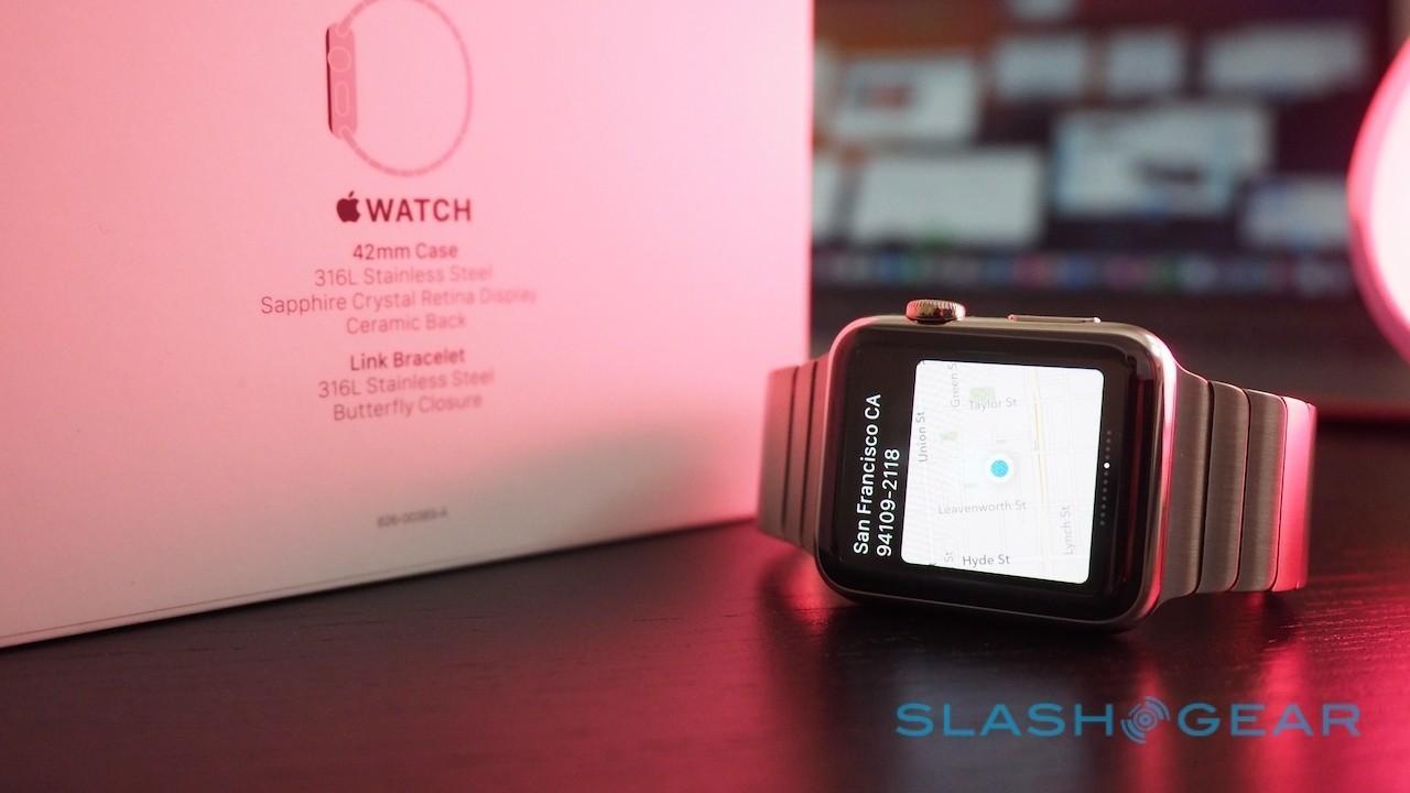 Apple Watch navigation