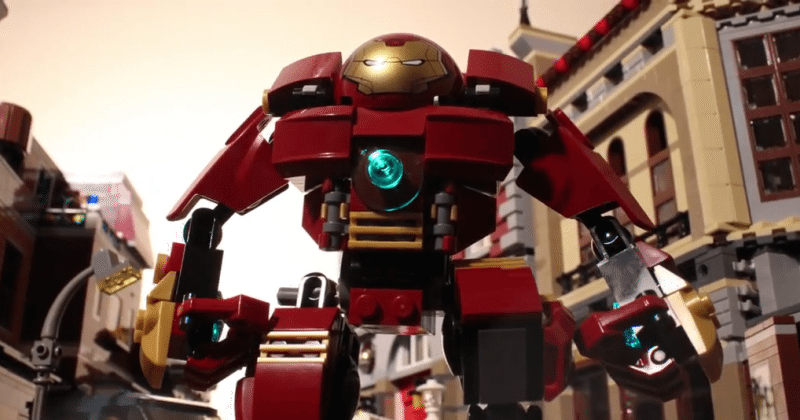 Another Avengers: Age of Ultron trailer, this time in LEGO