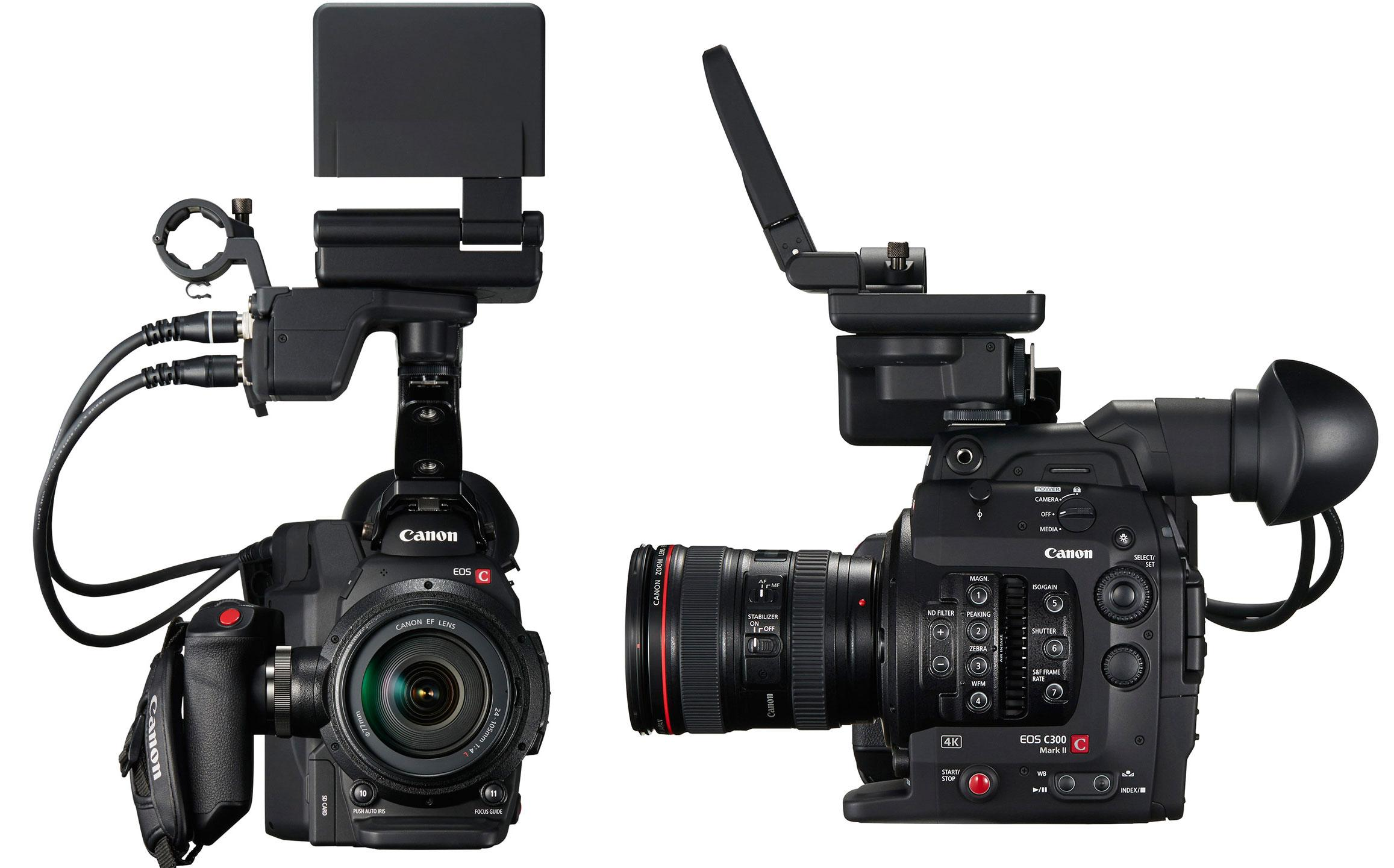 Canon EOS C300 Mark II revealed with 4K video - SlashGear