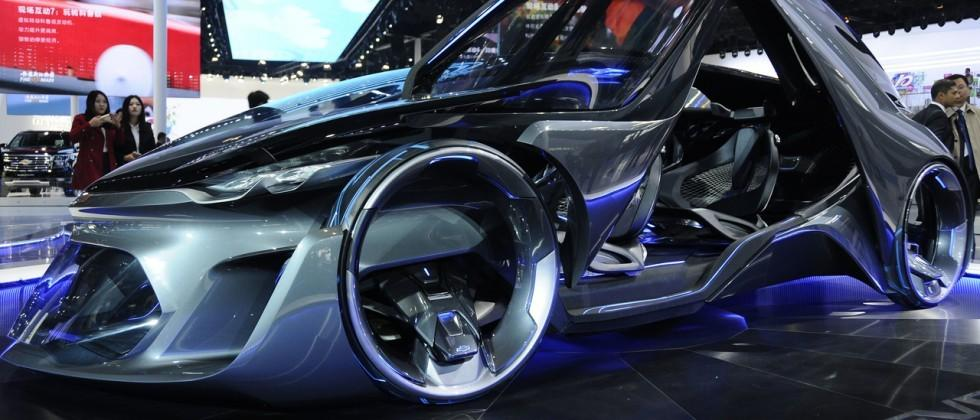 Chevrolet FNR rides into Shanghai straight from the future
