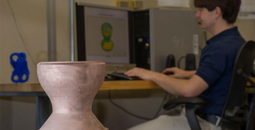 NASA uses 3D printer to make copper rocket engine part - SlashGear