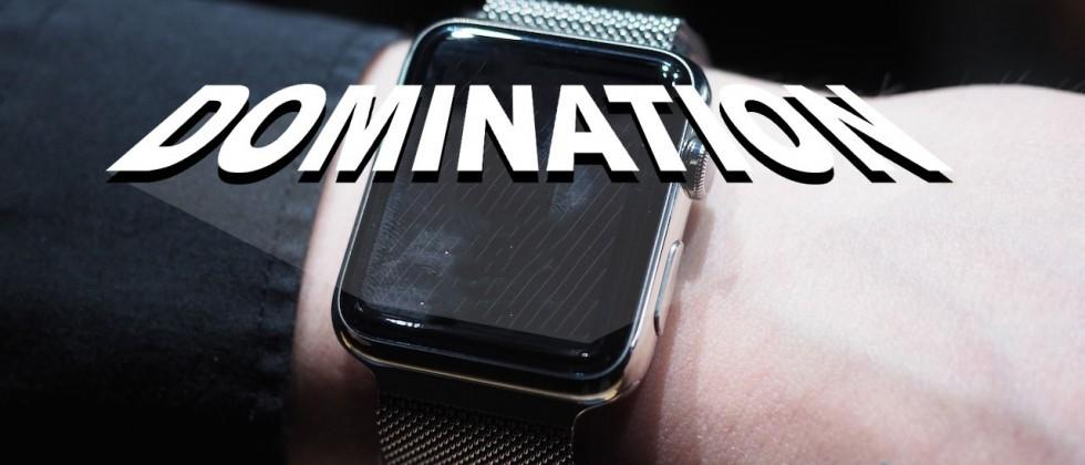 Goldman forecasts Apple Watch domination