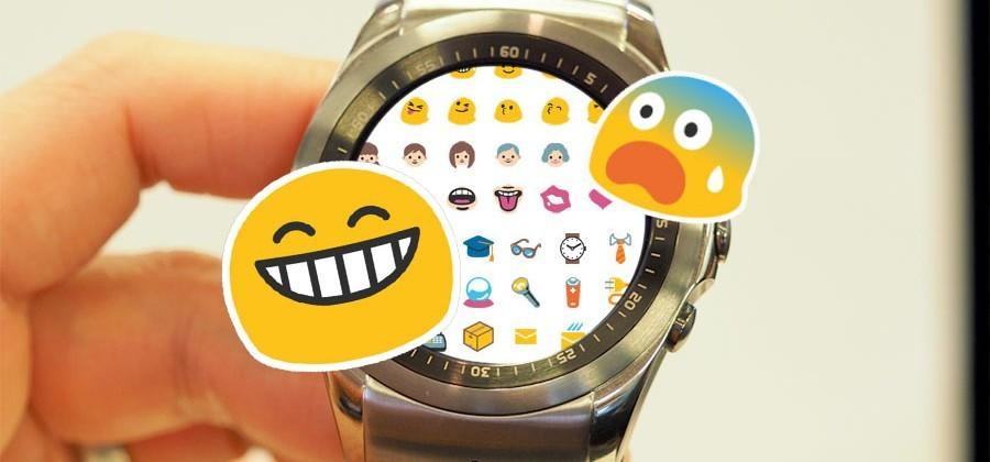 The emoji you've been waiting for: on Android Wear