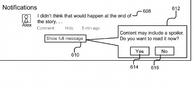 Google's new patent wants to protect you from spoilers