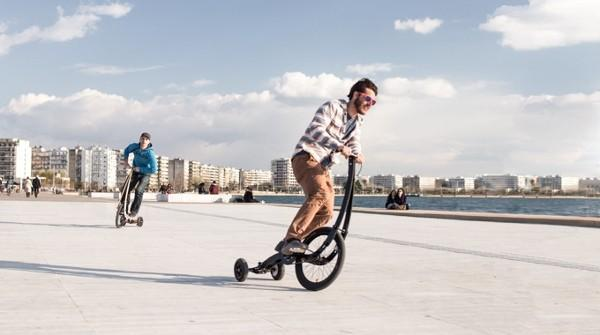 Halfbike II wants you to have fun, looks like skateboarding