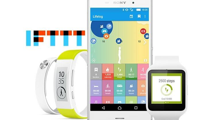 Sony teams with IFTTT for wearables