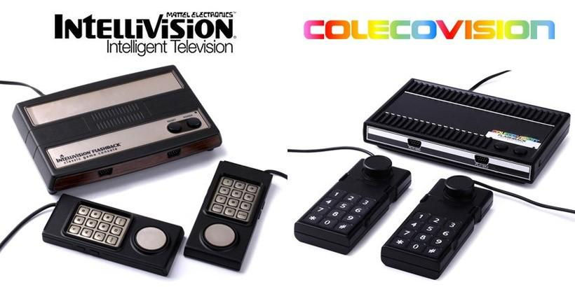 Reissue of Intellivision and Colecovision consoles aim for retro gamers