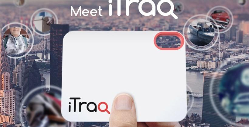 iTraq global location tag requires no GPS or Bluetooth
