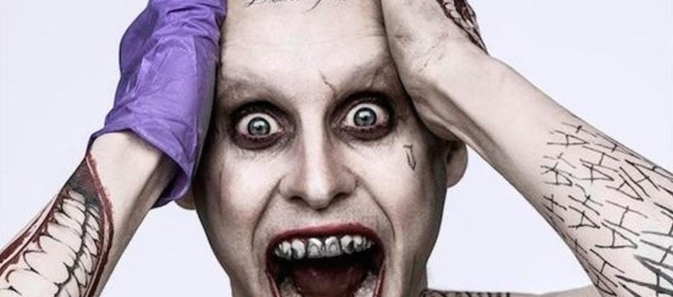 First look at Jared Leto's Joker from Suicide Squad
