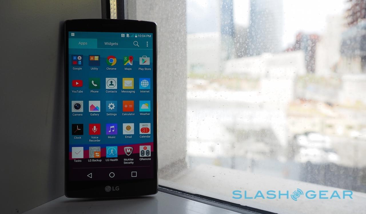 LG G4 hands-on: Quantum physics, leather and a smarter