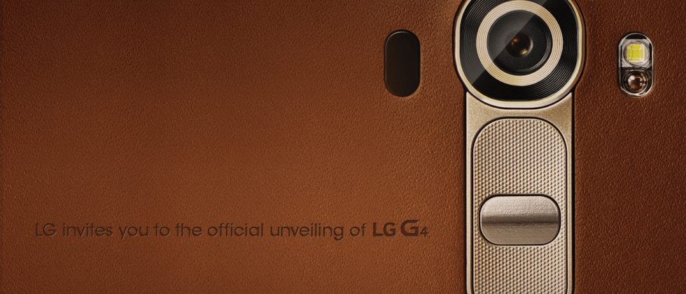 The LG G4 is coming April 28 (and we're already intrigued)