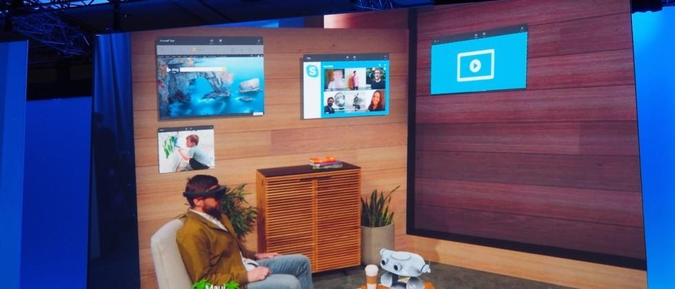 This is Windows Holographic on HoloLens (and it looks insane)
