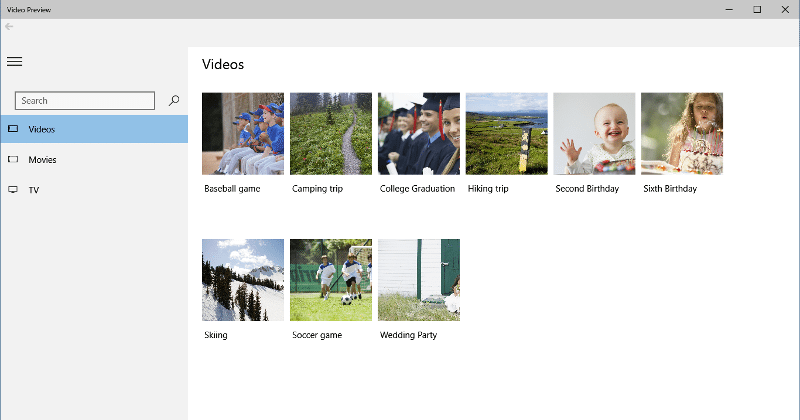 Windows 10 previews of Music and Video apps now ready