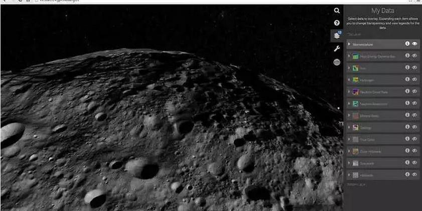 NASA launches web tool for exploring asteroid Vesta