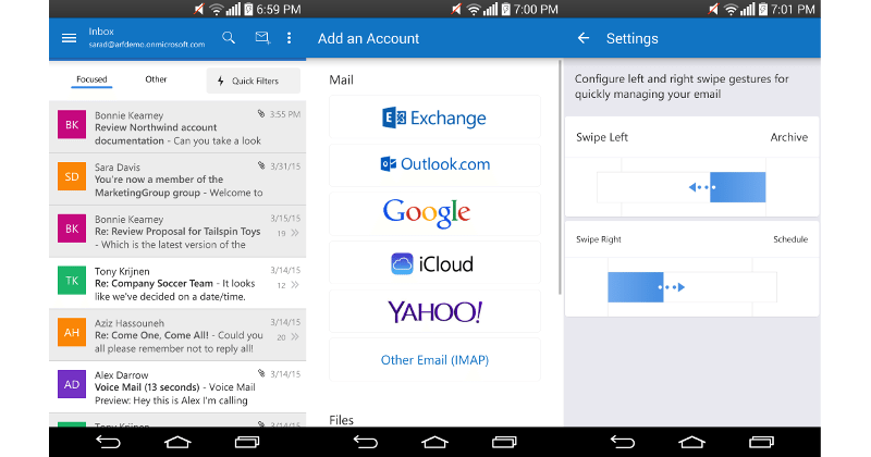 Microsoft moves Outlook for Android out of Preview