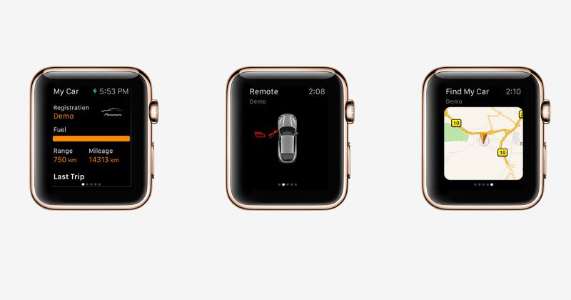 Porsche is also getting Apple Watch integration