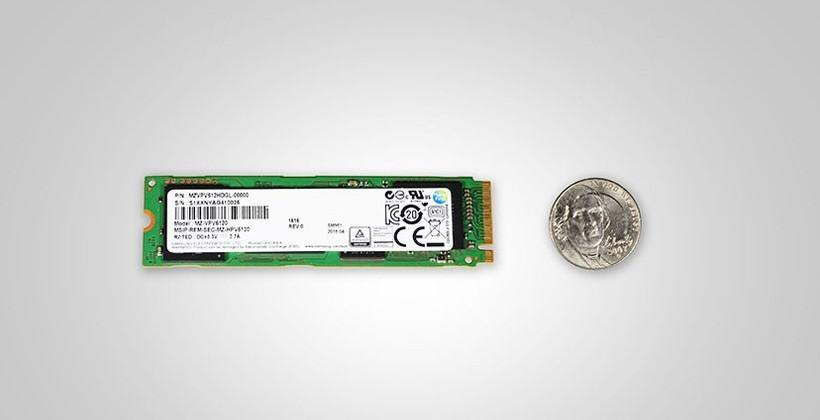Samsung unveils tiny M.2 NVMs PCIe SSD for PCs