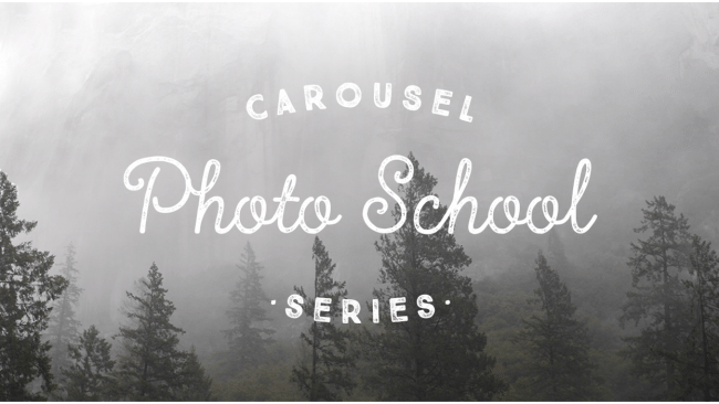 Carousel 'Photo School' may up your mobile photography game