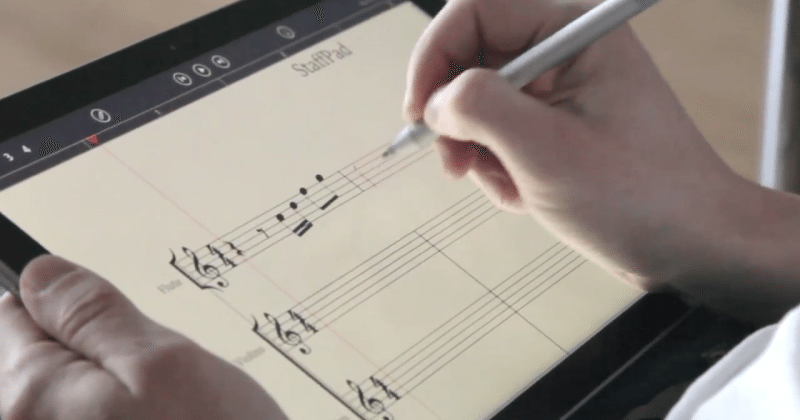StaffPad lets you draw music on that expensive Surface Pro