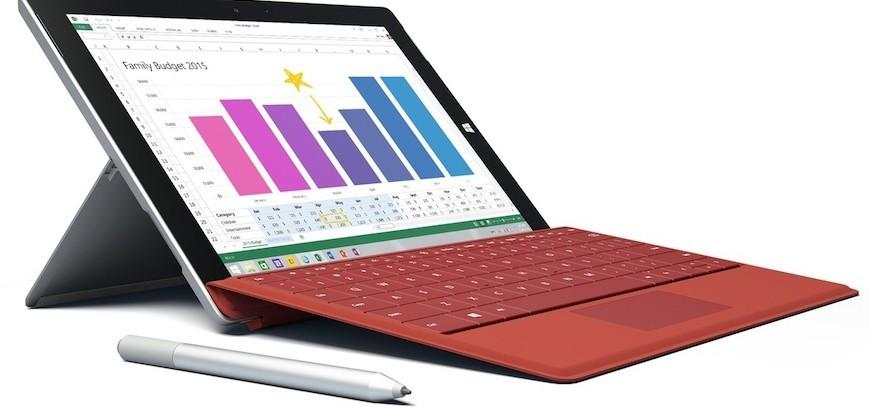 Microsoft to release unlocked LTE Surface 3