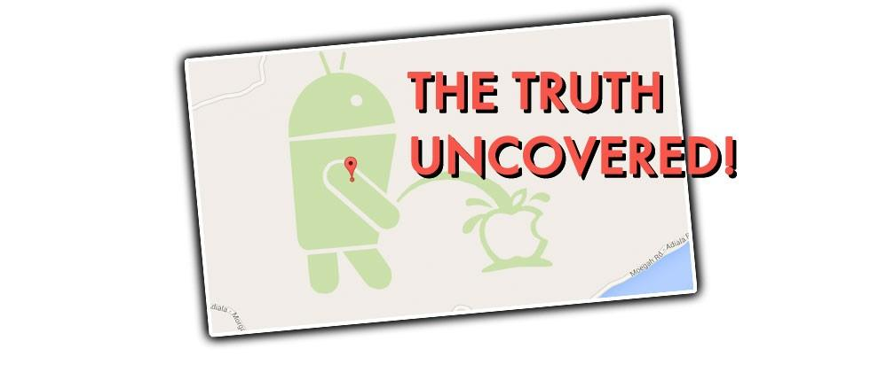"Google Maps ""Android Peeing on Apple"" Bandit Revealed"