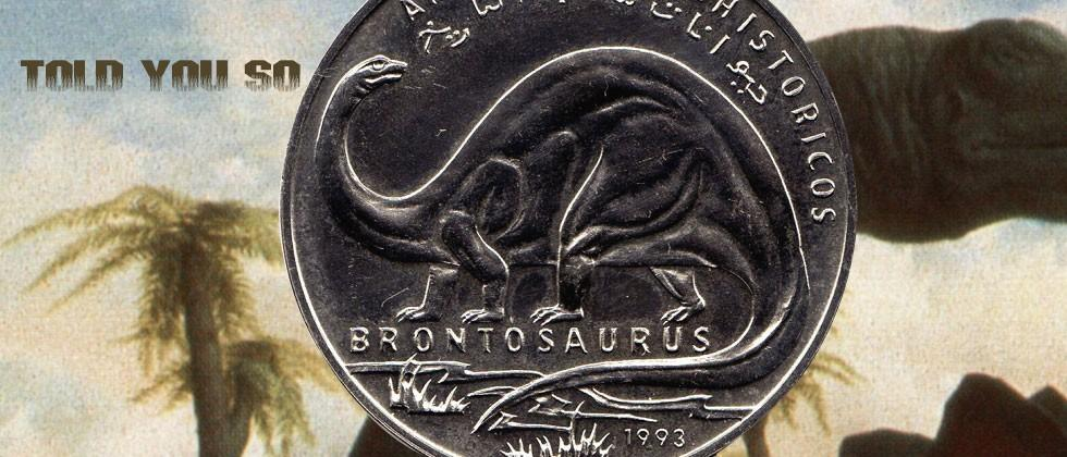 Brontosaurus is back from the dead (in name at least)
