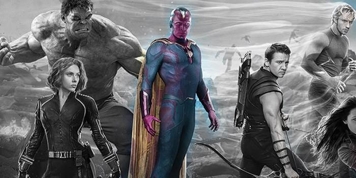 The Vision FINALLY revealed in Avengers: Age of Ultron poster