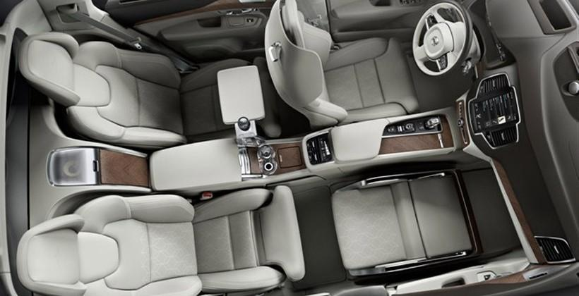 Volvo unveils new Lounge Console concept for those who like to be driven