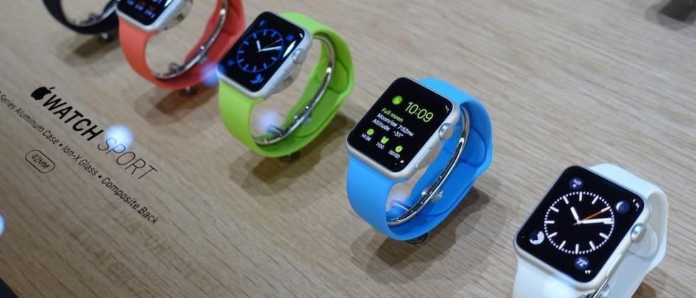 Apple Watch Sport display is best (by a smidgen)