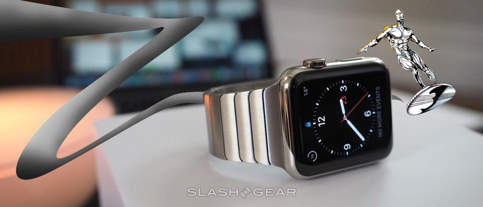 Apple Watch approaches like a Silver Surfer
