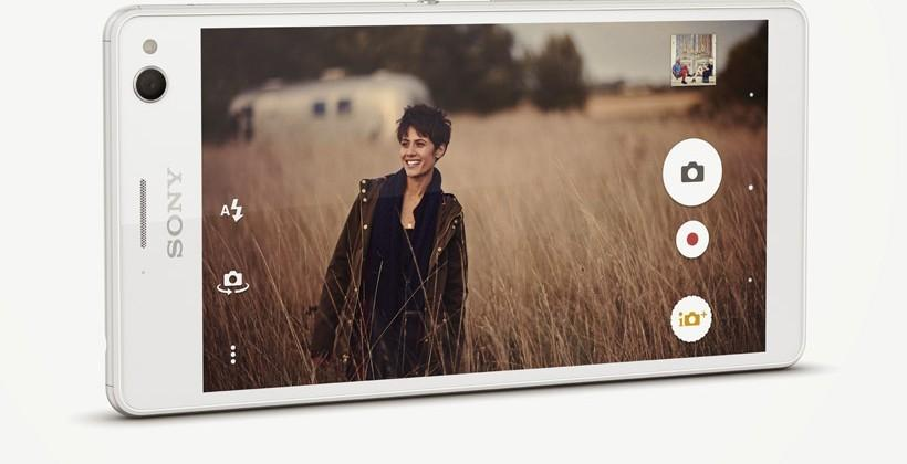 Xperia C4 and C4 Dual PROselfie smartphones rock 25mm wide-angle front lens