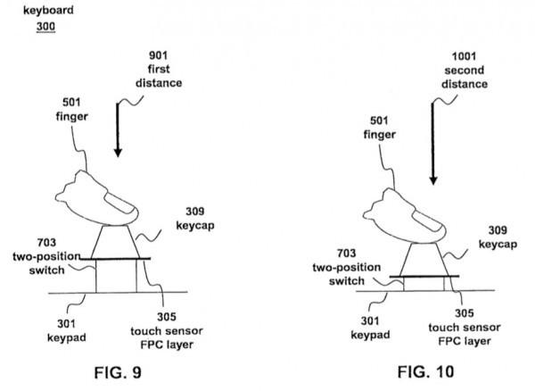 Apple granted patent for 'fusion keyboard' with multitouch keys