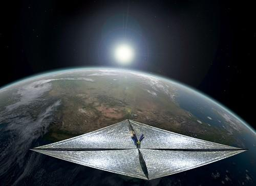 Solar space sail imagined by Carl Sagan readies for test flight