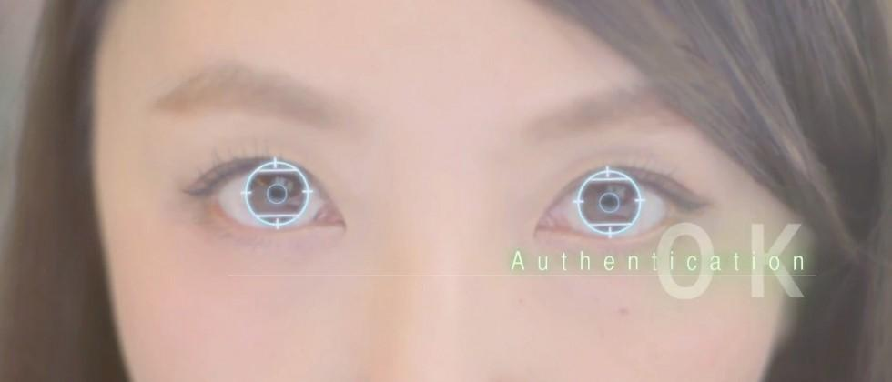 New smartphone uses iris scanning to replace passwords in Japan