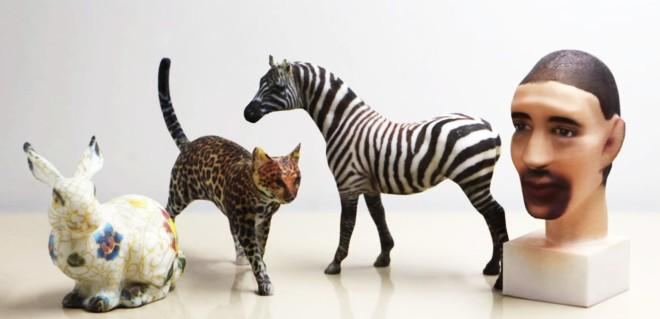 Hydrographic printing adds detailed paint jobs to 3D-printed objects