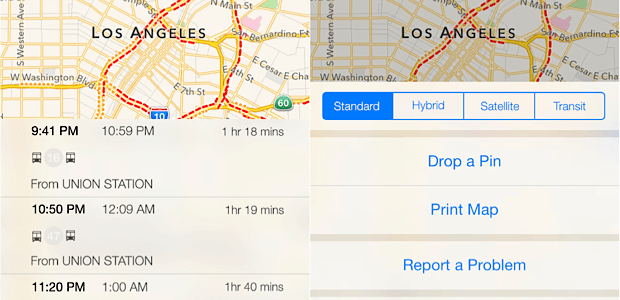 Apple preps transit directions for iOS 9 and uses robots to map interiors