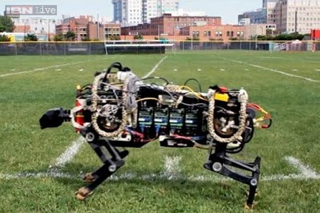 MIT's latest robot cheetah can jump higher than you