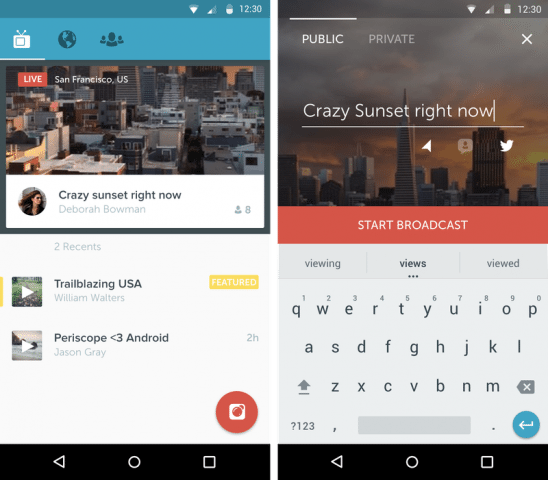 Twitter's live-streaming app Periscope released for Android