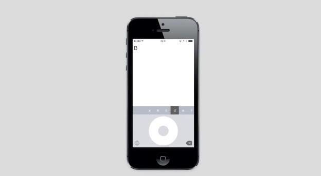 Click Wheel replaces your iPhone's keyboard with an iPod
